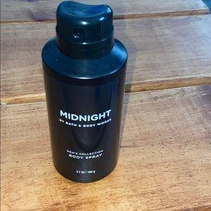 BBW Midnight Spray 2/$20!